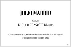 Julio Madrid